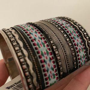 Cost Plus World Market Jewelry - Beaded bangle/ bracelet